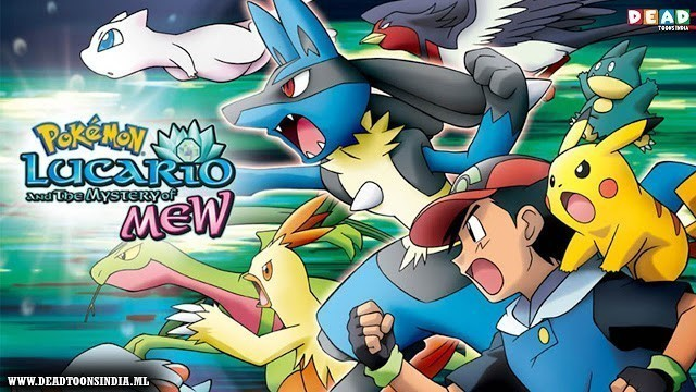 Pokémon Movie 8 Lucario and the Mystery of Mew Hindi Dubbed Download (1080p Full HD)
