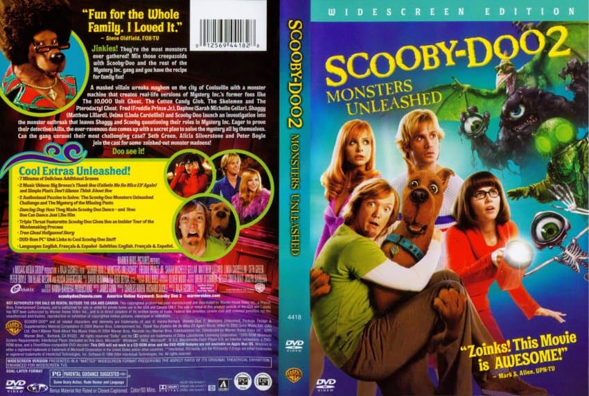 Scooby Doo 2 Monsters Unleashed Live Action Movie Hindi Dubbed (720P HD)