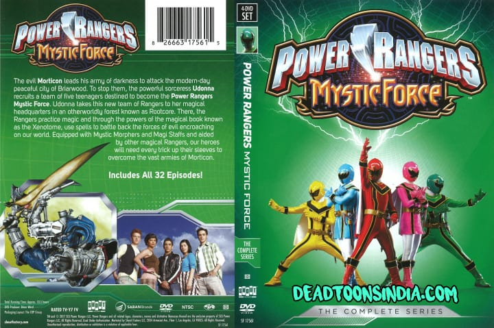 Power Rangers (Season 14) Mystic Force Hindi Dubbed Episodes Download (HD)