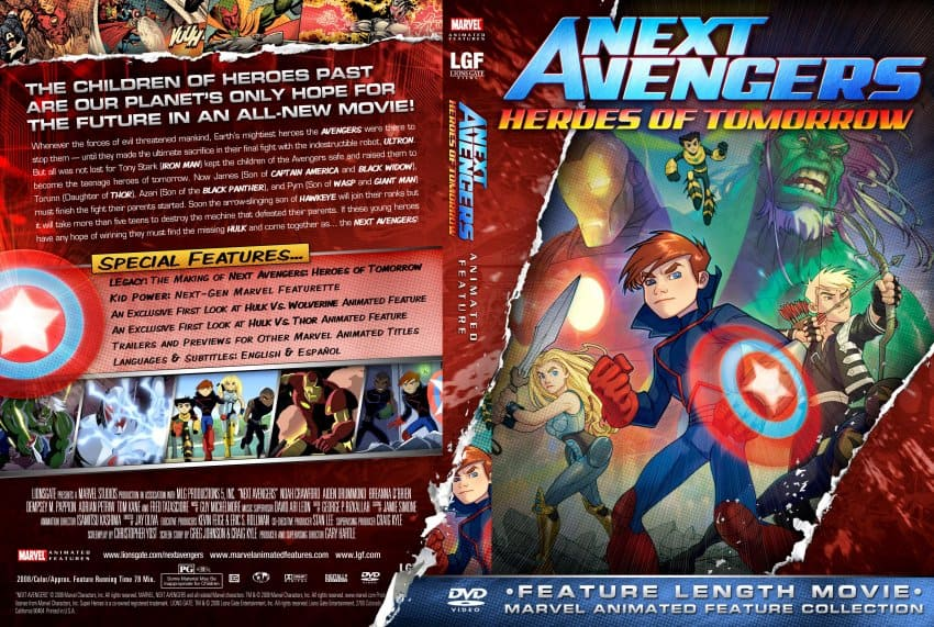 [MOVIE] Next Avengers: Heroes of Tomorrow (2008) Hindi Dubbed Download (720p HD)