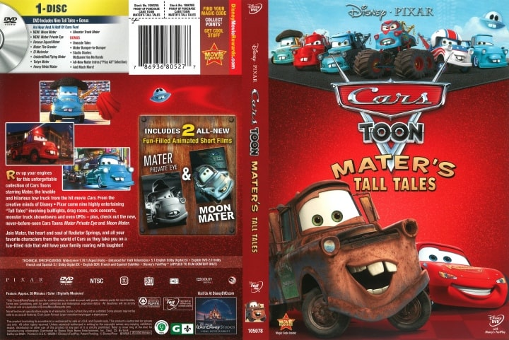 Cars Toons -Mater's Tall Tales Hindi Dubbed Episodes Download (720p HD)
