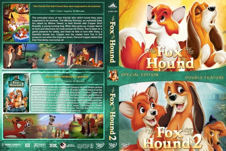 [Movie] The Fox and the Hound Duology (1981-2006) Hindi Dubbed Download [720p HD]