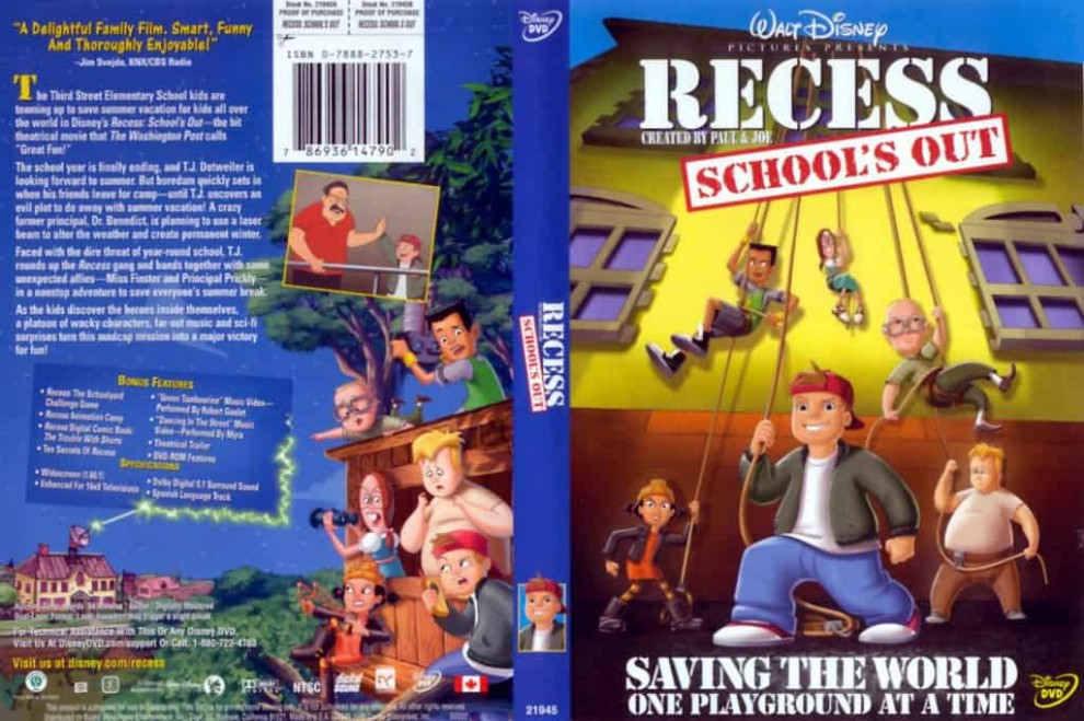 [Movie] Recess: School's Out (2001) Hindi Dubbed Download [720p HD]