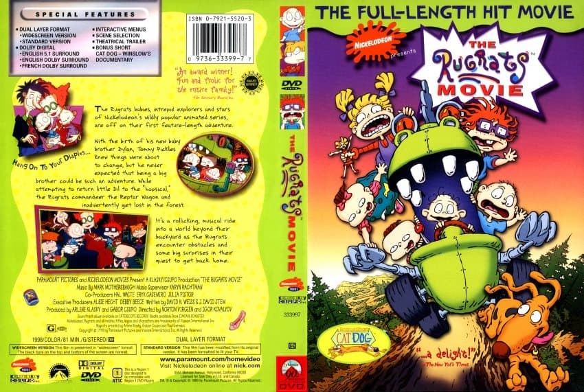[Movie] The Rugrats Movie (1998) Hindi Dubbed Download [720p HD]