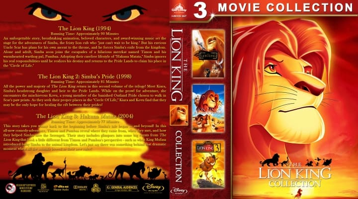 [Movie] The Lion King (1994-2004) Hindi Dubbed Download (1080p & 720p HD)