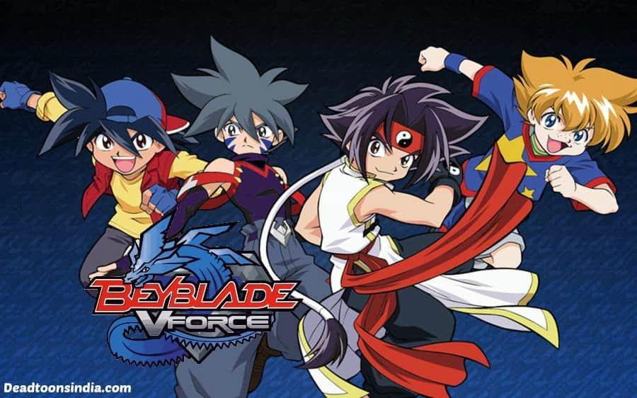 Beyblade Season 2 V-Force Episodes in Hindi Dubbed Download