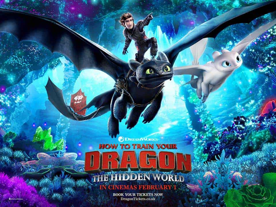 How To Train Your Dragon : The Hidden World (2019) [Multi Audio] Download [720p Blu-Ray]