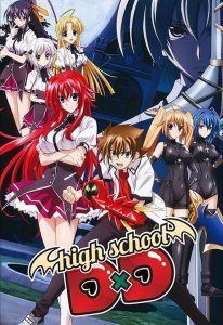 High School DxD Hindi Subbed Episodes Download (720p HD)