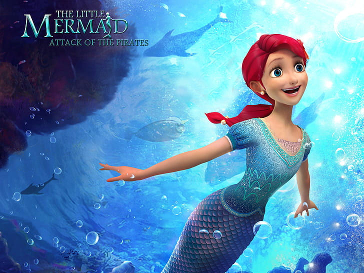 The Little Mermaid: Attack of the Pirates (2015) Hindi-Eng Dual Audio Download 480p, 720p & 1080p HD