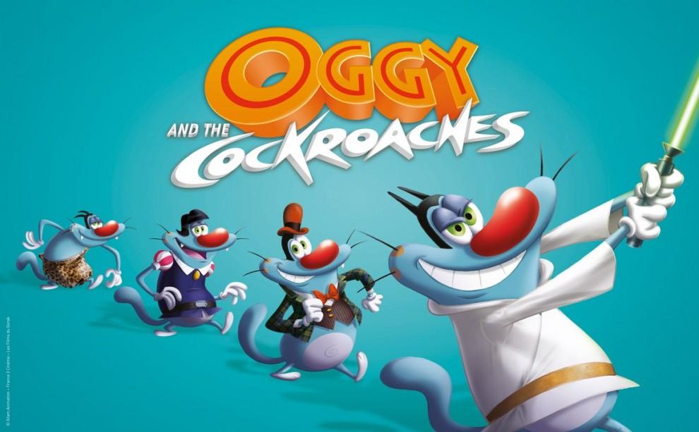 Oggy and The Cockroaches: The Movie (2013) Hindi WEB-DL Download 720p & 1080p